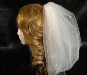 Bachelorette Veil - Rhinestone